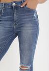 Niebieskie Jeansy Skinny Thasea