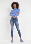 Niebieskie Jeansy Skinny Phantozilla