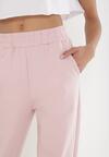 Różowe Spodnie Dresowe Thelxiesise