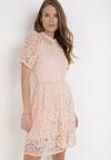 Różowa Sukienka Asithise