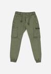 Zielone Spodnie Casdy