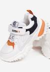 Biało-Niebieskie Buty Sportowe Haylay