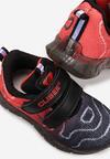 Czarno-Czerwone Buty Sportowe Jordyna