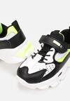 Czarno-Zielone Buty Sportowe Clyleora