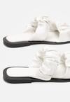 Białe Klapki Anbel