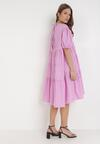 Różowa Sukienka Zhadah