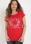 Czerwony T-shirt Cayetlin