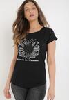 Czarny T-shirt Cayetlin