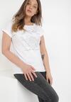 Biały T-shirt Cayetlin