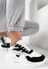 Biało-Czarne Sneakersy Arlyse