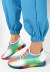 Biało-Zielone Buty Sportowe Desree