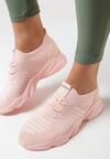 Różowe Buty Sportowe Allany