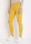 Żółte Spodnie Skinny Lyrei