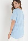 Jasnoniebieski T-shirt Mayarinia