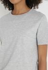 Jasnoszary T-shirt Keatris