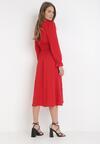 Czerwona Sukienka Kelkian