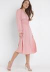 Różowa Sukienka Kelkian
