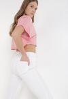 Białe Spodnie Skinny Kyllienne