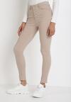 Beżowe Spodnie Skinny Kyllienne