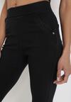 Czarne Spodnie Skinny Iaoth