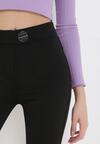 Czarne Spodnie Skinny Arariel