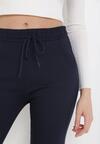 Granatowe Spodnie Puriel