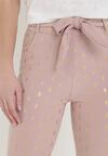 Ciemnoróżowe Spodnie Skinny Kasdeja