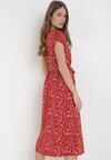 Czerwona Sukienka Valoel