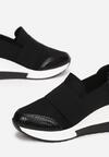 Czarne Sneakersy Phironis