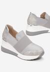 Szare Sneakersy Phironis