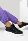 Czarne Sneakersy Shevien