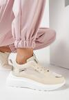 Beżowe Sneakersy Shevien