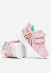 Różowo-Miętowe Buty Sportowe Merimora