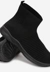 Czarne Sneakersy Nairianne