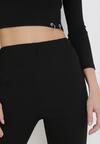 Czarne Spodnie Szerokie Anitea