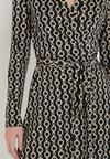 Czarna Sukienka Larigina
