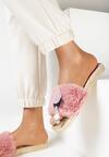 Różowe Klapki Azaerlienne