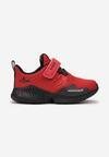 Czerwono-Czarne Buty Sportowe Azaeresh
