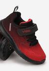 Czerwono-Czarne Buty Sportowe Grynaya