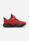 Czerwono-Czarne Buty Sportowe Orysh