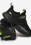 Czarno-Zielone Buty Sportowe Orysh