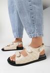 Beżowe Sandały Elrinova
