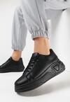Czarne Sneakersy Corilinai