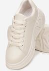 Beżowe Sneakersy Corilinai