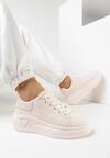 Różowe Sneakersy Corilinai