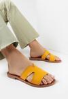 Żółte Klapki Meridtyse