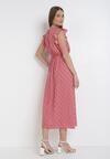 Czerwona Sukienka Murielis