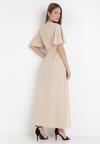 Jasnobeżowa Sukienka Adreanah