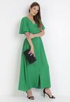 Zielona Sukienka Adreanah