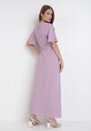 Liliowa Sukienka Adreanah